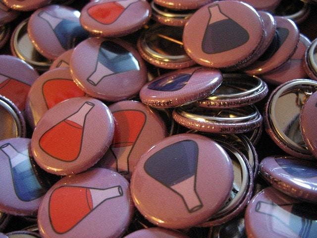 Buttons, Buttons, Buttons, …