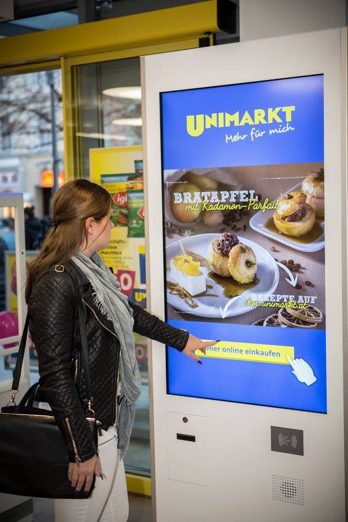 Multichannel Online Lebensmittel Unimarkt
