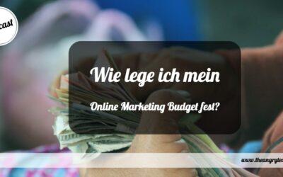 154 Wie lege ich mein Online Marketing Budget fest?