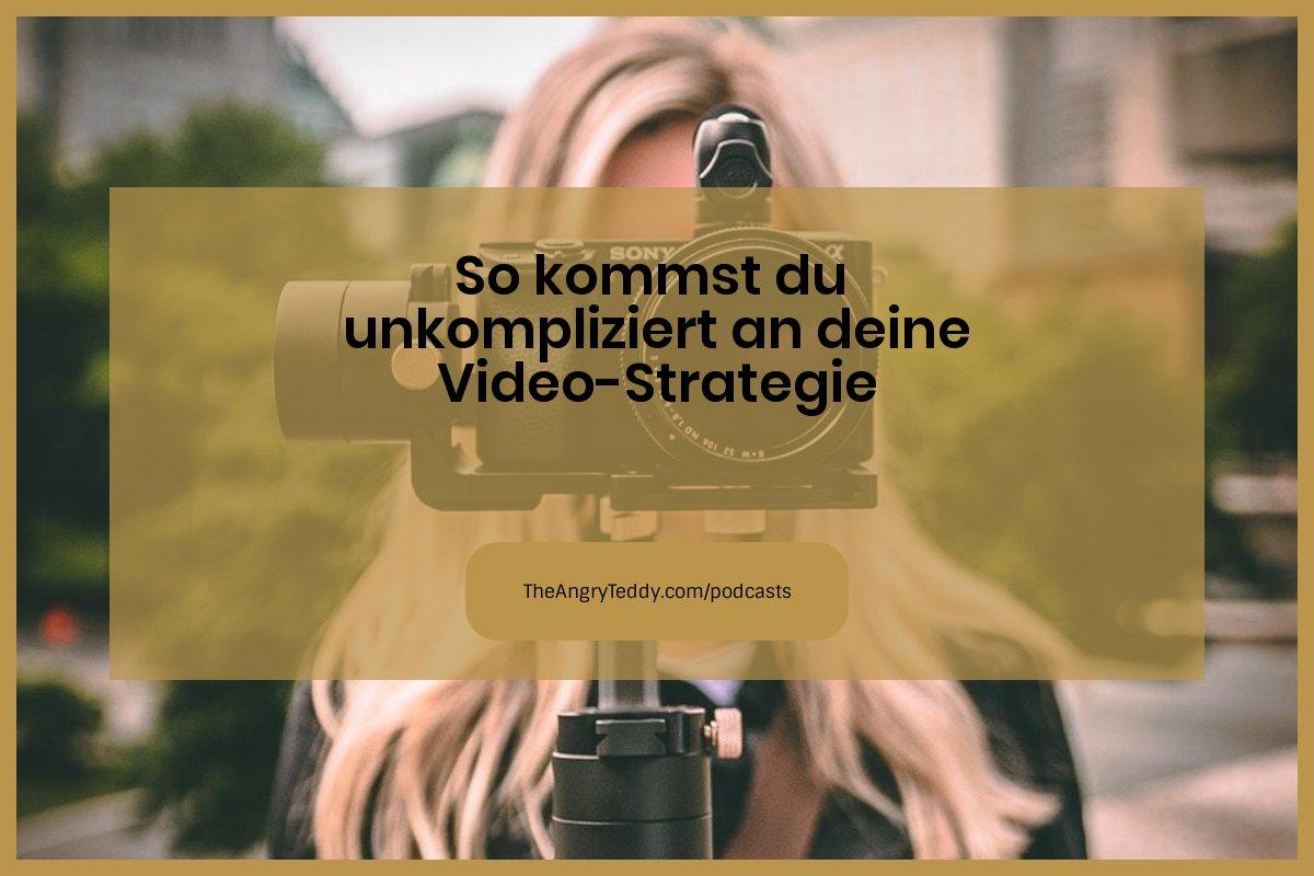Social Media Marketing Video Strategie