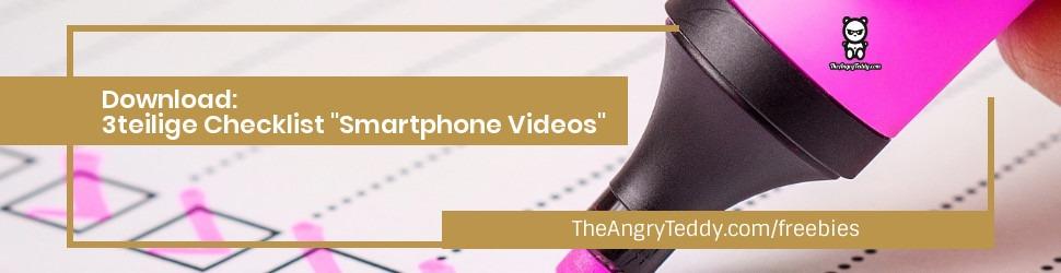Checklist Smartphone Videos