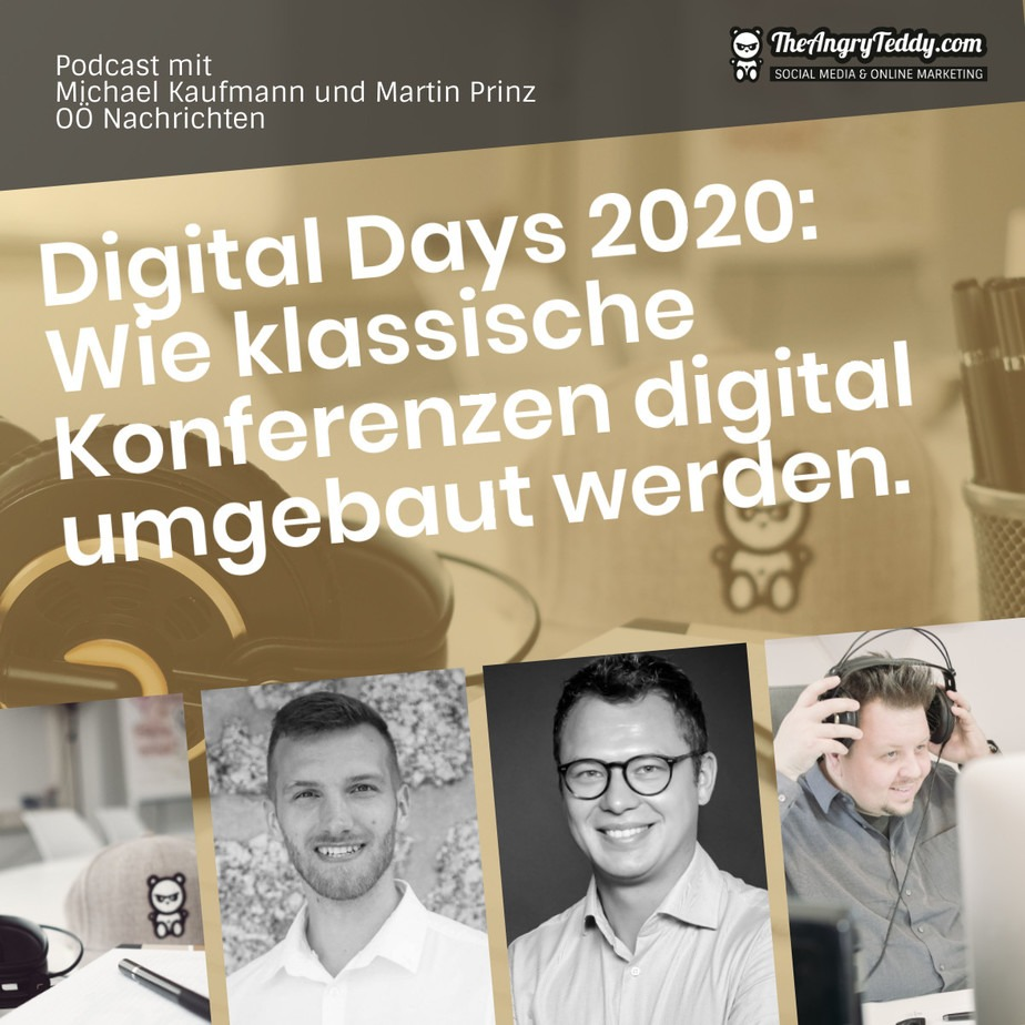 TAT0221 – Digital Days 2020: Wie klassische Konferenzen digital umgebaut werden
